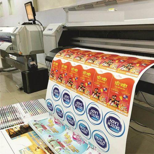 Vai trò của in tem nhãn sản phẩm